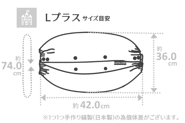 Lプラスサイズ