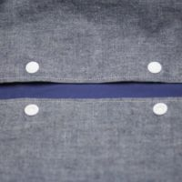 【M】ダンガリーデニム風ブルー/抱っこひも収納カバー「ルカコ」0601-11