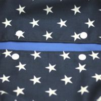 【L】星柄ネイビー/抱っこひも収納カバー「ルカコ」 88-0671-11
