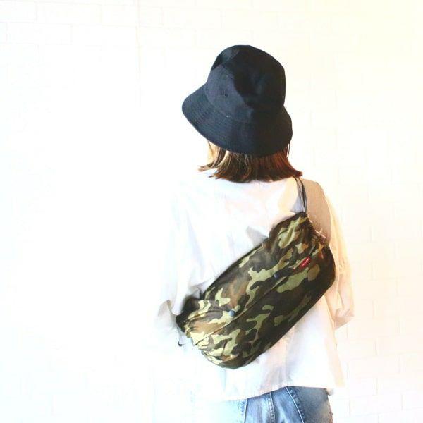 【L】カモフラージュ ブラウン系/抱っこひも収納カバー「ルカコ」88-0685-11