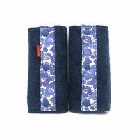 抱っこ紐のよだれカバーFUWA ブルー× 【リバティ】 ベッツィアンブルー 51-0868-11