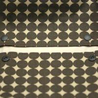 【L】【セット】ドットブラウン/抱っこひも収納カバー「ルカコ」89-0018-11