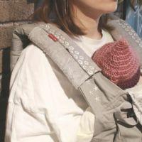 【出産祝・贈答用】おもてなし(お花とかご付き送料込)【L】【セット】ロココ調グレー「ルカコ」76-0709-11