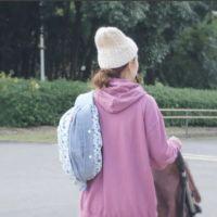 【プラス】ダンガリーデニム風ブルー/抱っこひも収納カバー「ルカコ」 60-0601-11