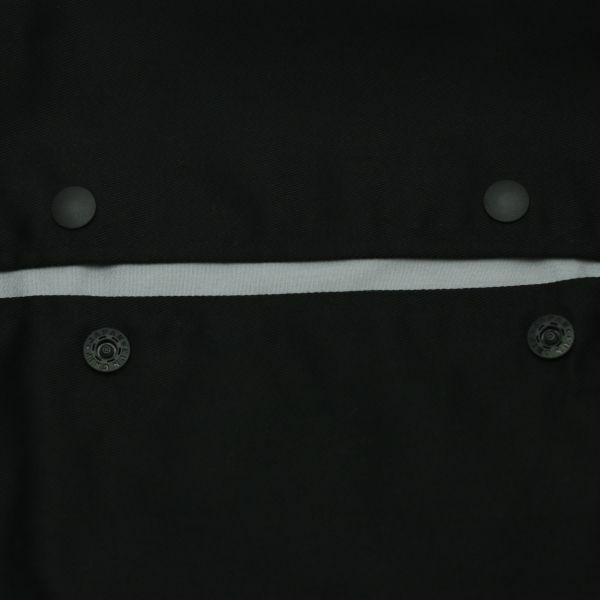 抱っこひも収納カバールカコ【ヒップシート対応】シンプルブラック 生地しっかりめ 裏生地グレー 「ルカコ」 80-0907-11