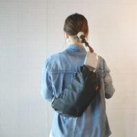 【L】【撥水加工】【リバーシブル】ブラック×カモフラ柄/抱っこひも収納カバー「ルカコ」 88-1005-11