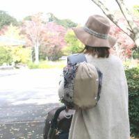 【プラス】シンプルベージュ/抱っこひも収納カバー「ルカコ」 60-0988-11