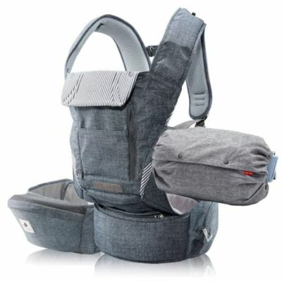NO5 PLUS all in one baby carrier-denimgray POGNAE