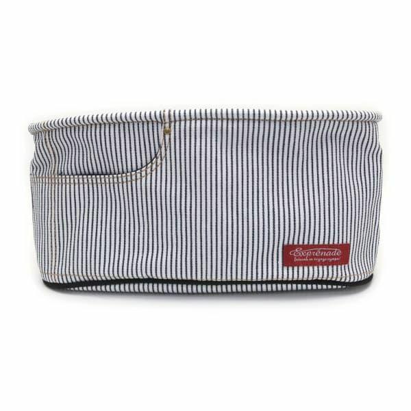 【ベビーカーバッグ】スマホ/ドリンク/紙おむつ/おしり拭きがすぐに取り出せる収納 ベビーカーオーガナイザー 車のヘッドレストやベビーベッドにも 1000-02-4