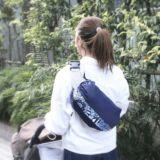 【L】【レイヤー】ネイビー×ルカコオリジナルブルー/抱っこひも収納カバー「ルカコ」88-0973-11
