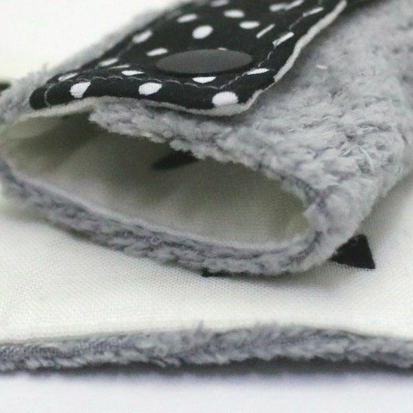 抱っこ紐のよだれカバー ベビービョルン専用FUWA【小さいドット】「ルカコ」52-0380-11