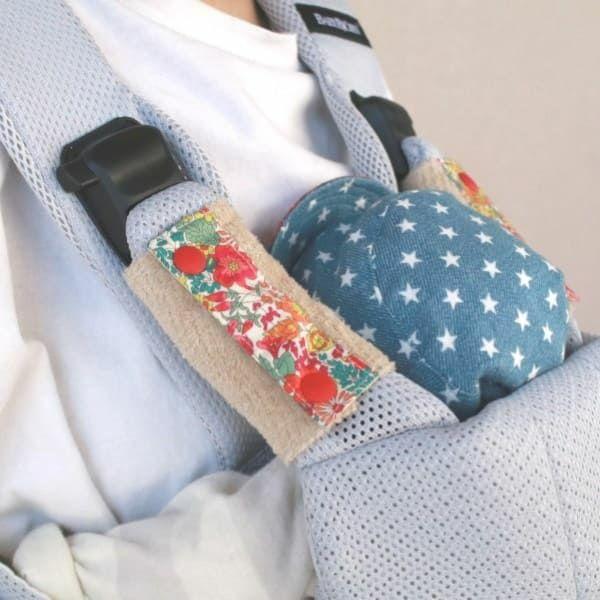 抱っこ紐のよだれカバー ベビービョルン専用FUWA【リバティ】マーガレットアニー「ルカコ」52-0876-11