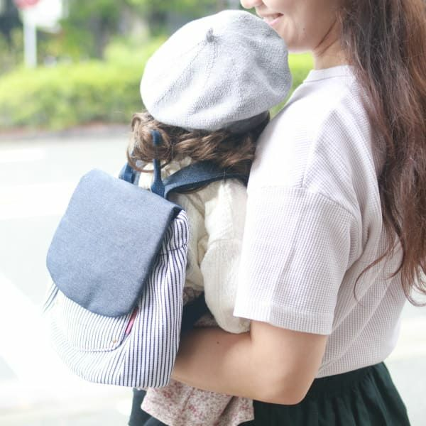 【ベビーリュック】赤ちゃんから4歳頃まで使えるシンプルで、おしゃれなベビーバッグ!1歳の一升餅にも使える。 1000-10-02
