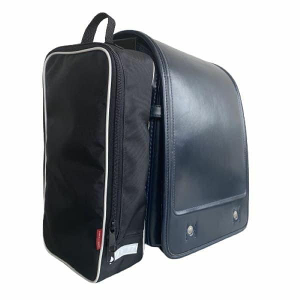 【てぶラン・スマート】自宅用ブラック/ランドセルサイドポーチ(バッグ) ランドセル通学を手ぶらでおしゃれにスマートに1000-12-04