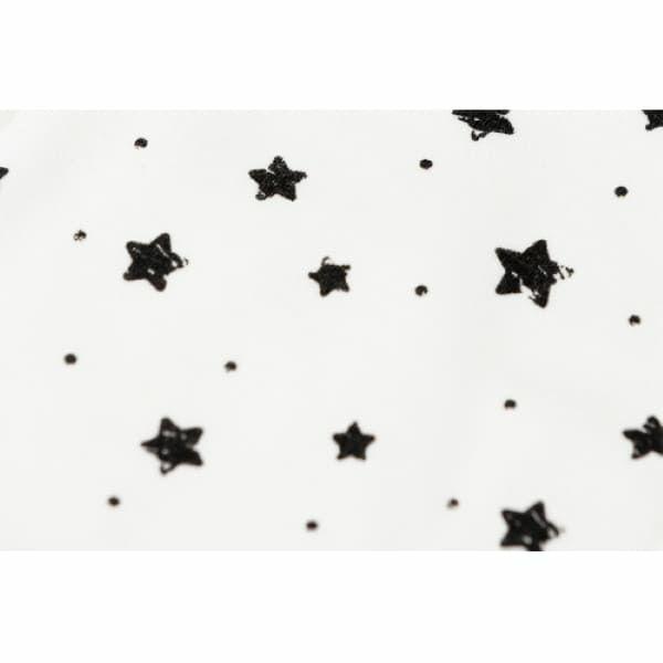 【ベビーアンドミー】ベルク専用 スリーピングフード(ヘッドサポート・頭あてカバー)【星柄・スター】1000-07-20