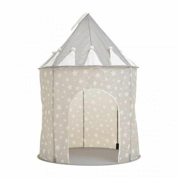 【キッズテントハウス】おしゃれなモノトーンのコンパクトでかわいい組み立て簡単!折りたたみおすすめプレイハウス お店屋さんごっこにも1000-21-01