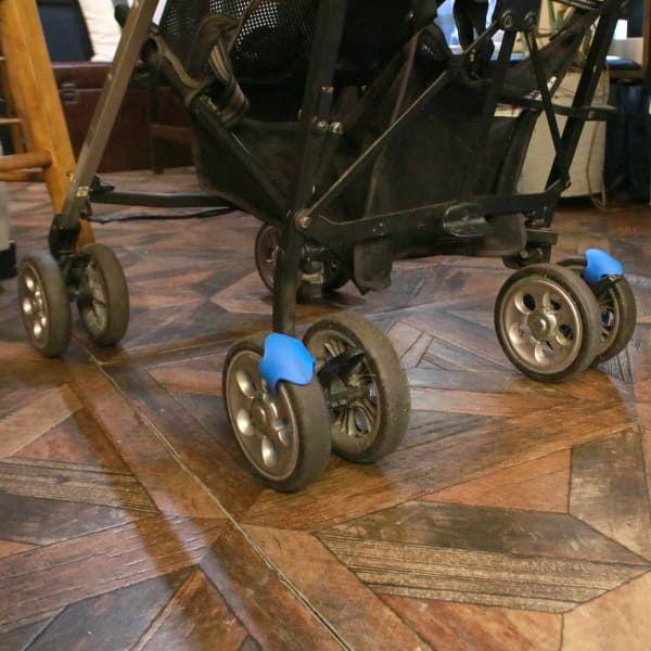 ウィールズ(wheelzzz)【イエロー】ベビーカーで寝かしつけ!新生児~1歳2歳3歳のスペイン生まれのベビーカーでドライブ中のカタンカタンの心地よさ1000-31-03