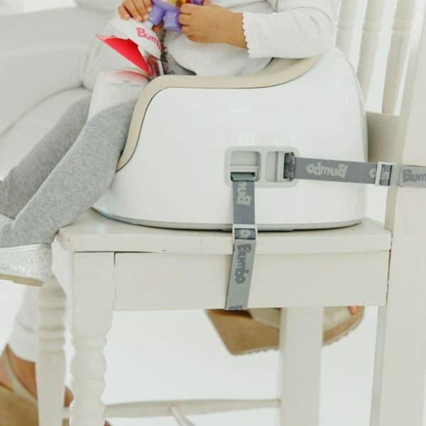 【バンボ マルチシート】離乳食やお食事ができるテーブル机付きのおしゃれな椅子バンボ正規品!【サンドベージュ】大人用椅子に設置可、テーブル収納でスマート、高さ段階調節可(対象年齢約6か月~3歳15kg)で長く使えるお得なタイプ1000-37-02